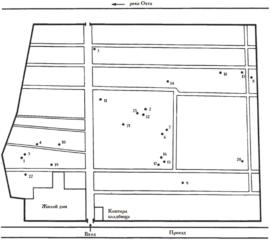 Исторические захоронения Малоохтинского кладбища
